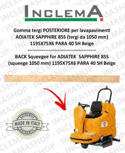 Back Squeegee Rubber for Scrubber Dryer ADIATEK SAPPHIRE 85S