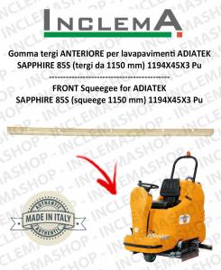 Vorne Sauglippen für Scheuersaugmaschinen ADIATEK SAPPHIRE 85S (tergi da 1150 mm)