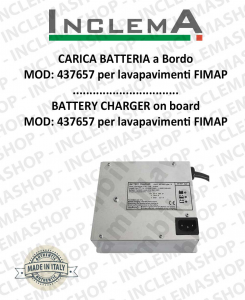 Battery Charger on board MOD: 437657 for Scrubber Dryer FIMAP