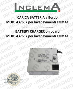 Battery Charger on board MOD: 437657 for Scrubber Dryer COMAC