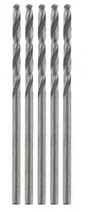 HSS mini Jobber Drills 0,5 mm (twist drills) 5x
