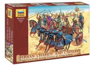 Persian Chariot and Cavalry
