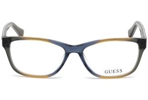 Guess - Occhiale da Vista Donna, Brown/Grey Mix GU 2513 020 C53