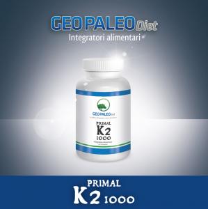 Primal K2 1000 - Vitamina K2/MK7 - No Soya, No Glutine, No Lattosio