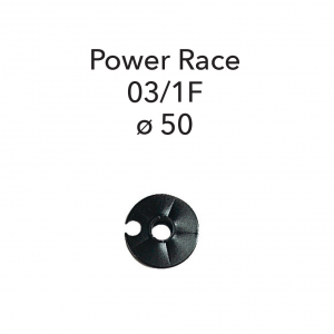 GABEL 03/1-F - Black Threaded Power Race Roller