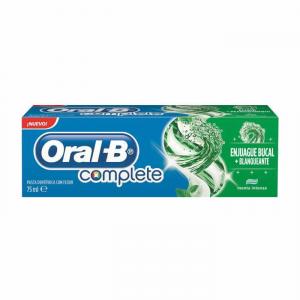 Oral-B Complete Dentifricio Collutorio + Sbiancante 75ml