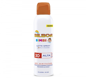 BILBOA BIMBI LATTE SPRAY SPF 30 ANTI SCOTTATURE 150ML