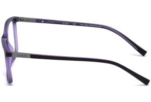 Guess - Occhiale da Vista Unisex, Matte Black/Dark Violet GU 3004 002 C53
