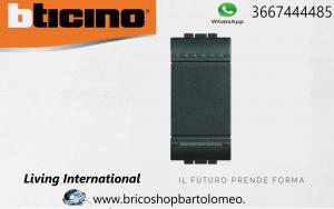 LIVING INTERNATIONAL INTERRUTTORE UNIPOLARE 16A BTICINO L4001N