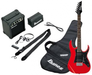 IBANEZ Kit chitarra elettrica IJR200 - RD JUMPSTART RED