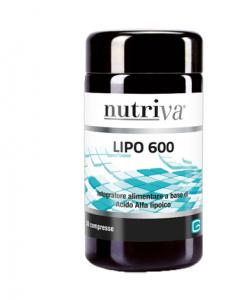NUTRIVA LIPO 600 INTEGRATORE ANTIOSSIDANTE  30 COMPRESSE