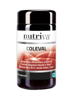 NUTRIVA COLEVAL INTEGRATORE CARDIOVASCOLARE 60 COMPRESSE