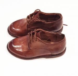 Scarpe di cuoio marroni