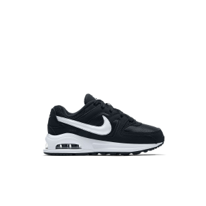 NIKE AIR MAX COMMAND FLEX (PS) BLACK/WHITE-WHITE 844347-011