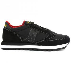 SNEAKERS SAUCONY JAZZ ORIGINAL BLACK/RED/ROUGE 2044-251