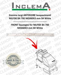 Gomma tergi ANTERIORE per Nilfisk BA 700