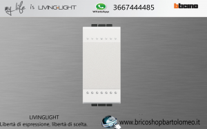 LIVINGLIGHT INTERRUTTORE N4001N