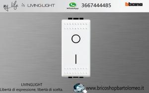 LIVINGLIGHT INTERRUTTORE BIPOLARE N4002N