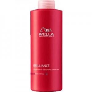 Wella Brilliance Shampoo Capelli Grossi 1000ml
