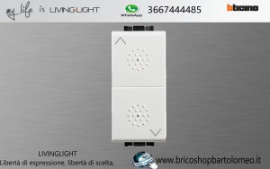 LIVINGLIGHTLIGHT DOPPIO PULSANTE N4027