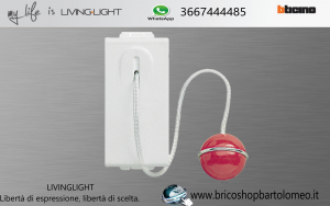 LIVING LIGHT PULSANTE A TIRANTE N4033
