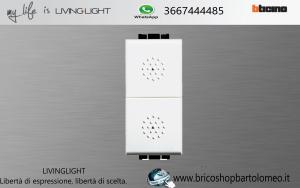 LIVINGLIGHT DOPPIO PULSANTE 16A N4036