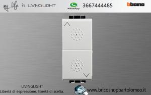 LIVINGLIGHT DOPPIO PULSANTE N4037