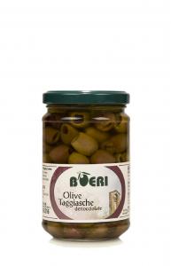 Olive Taggiasche denocciolate sott'Olio Extra Vergine 314ml