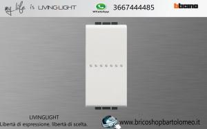 LivingLight Deviatore Assiale 16A 1P Bianco N4053N
