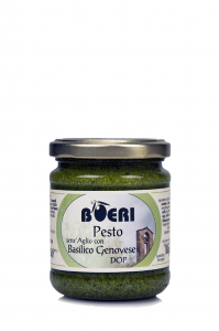 Genovese Pesto with Genovese DOP basil without garlic 212 ml