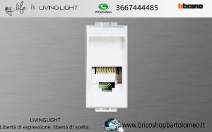 LIVINGLIGHT PRESA TELEFONO N4258/11N