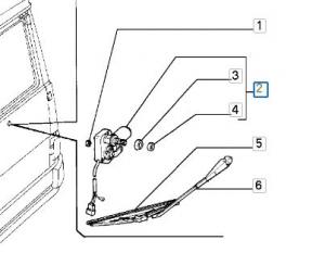 Motorino tergilunotto Ducato 90-  (4469361)