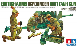 British 6-Pounder Anti-Tank Gun