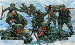 Italian Mountain Troops Alpini