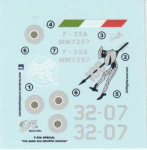 F-35A '100 Anni XIII Gruppo Caccia'  - 32 Stormo