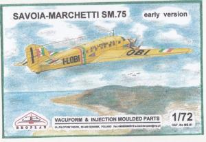 Savoia Marchetti SM.75 Early Version