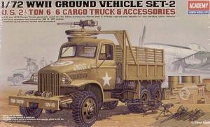 U.S. 2.5ton CARGO TRUCK & ACCESSORIES