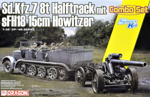 Sd.Kfz.7 8(t) Halftrack + s.FH.18 Howitzer