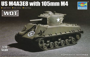 M4A3E8 with 105mm M4