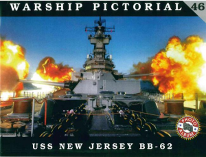 USS NEW JERSEY BB-62