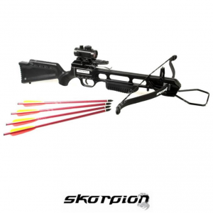 Balestra skorpion xbr100 BK 175# + red dot