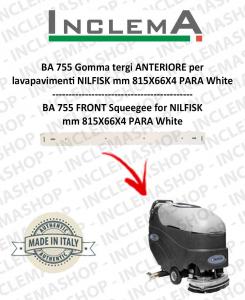 BA 755 Gomma tergi ANTERIORE per lavapavimenti NILFISK