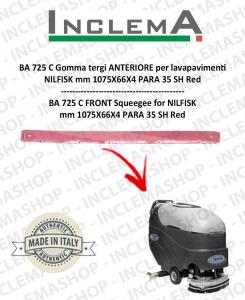 BA 725 C Gomma tergi ANTERIORE per lavapavimenti NILFISK