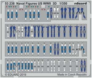 Naval Figures US WWII 3D