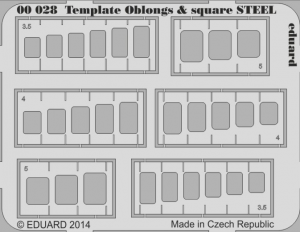 TEMPLATE OBLONGS & SQUARE STEEL
