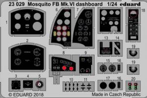 Mosquito FB Mk. VI dashboard