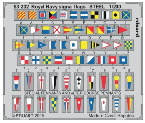 Royal Navy signal flags