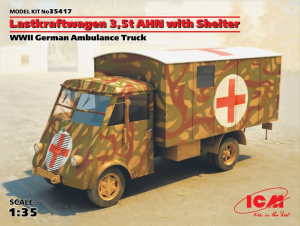 LASTKRAFTWAGEN 3,5T AHN AMBULANCE
