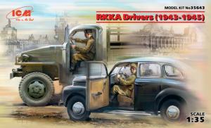RKKA Drivers (1943-1945) (2 figures)