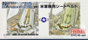 WW2 US Aircraft Seatbelt Set